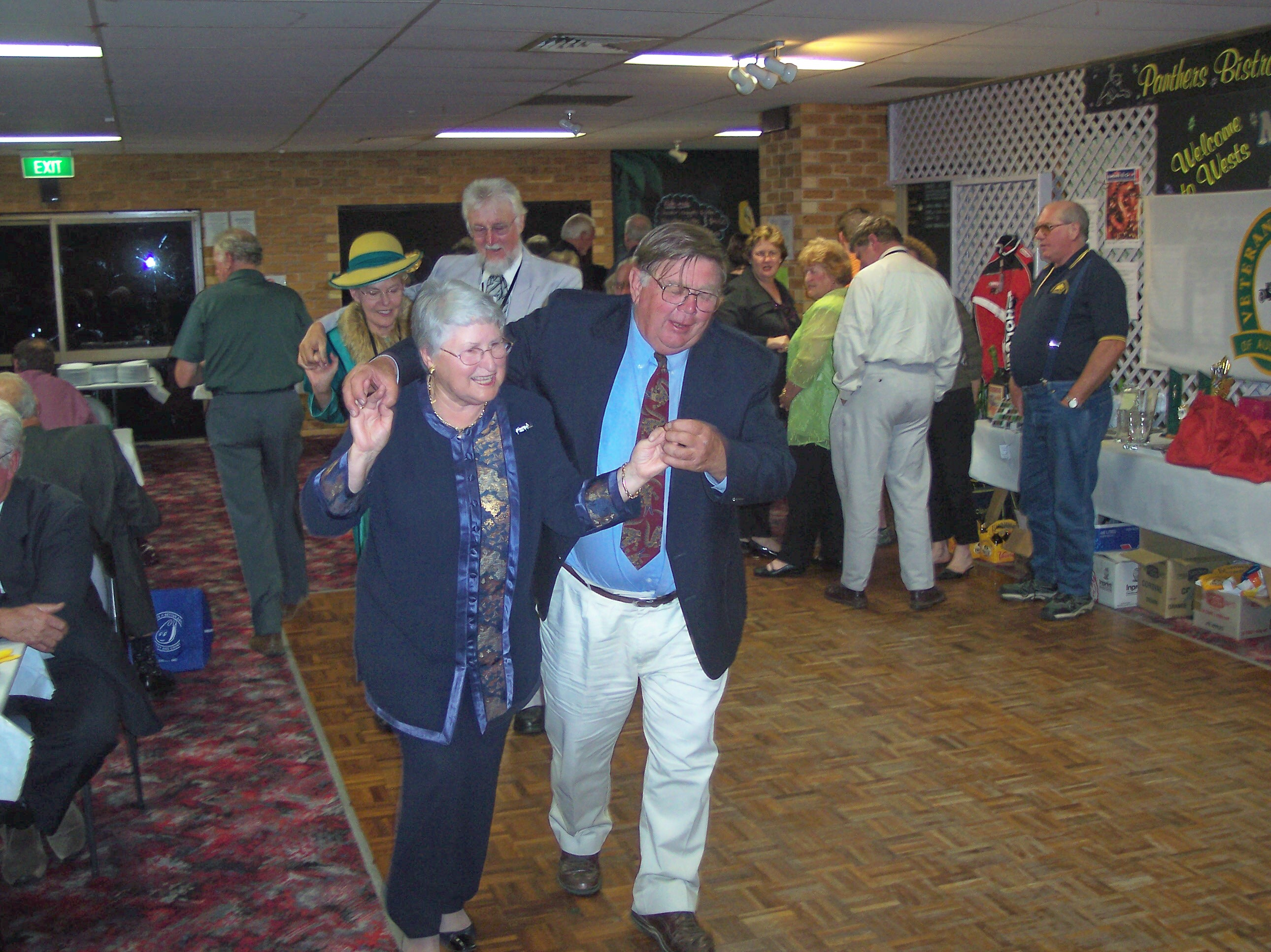 OLD TIMERS DANCE MCFEETERS