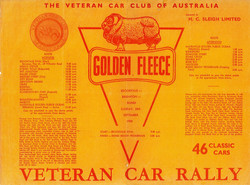 Golden Fleece Rally Flyer