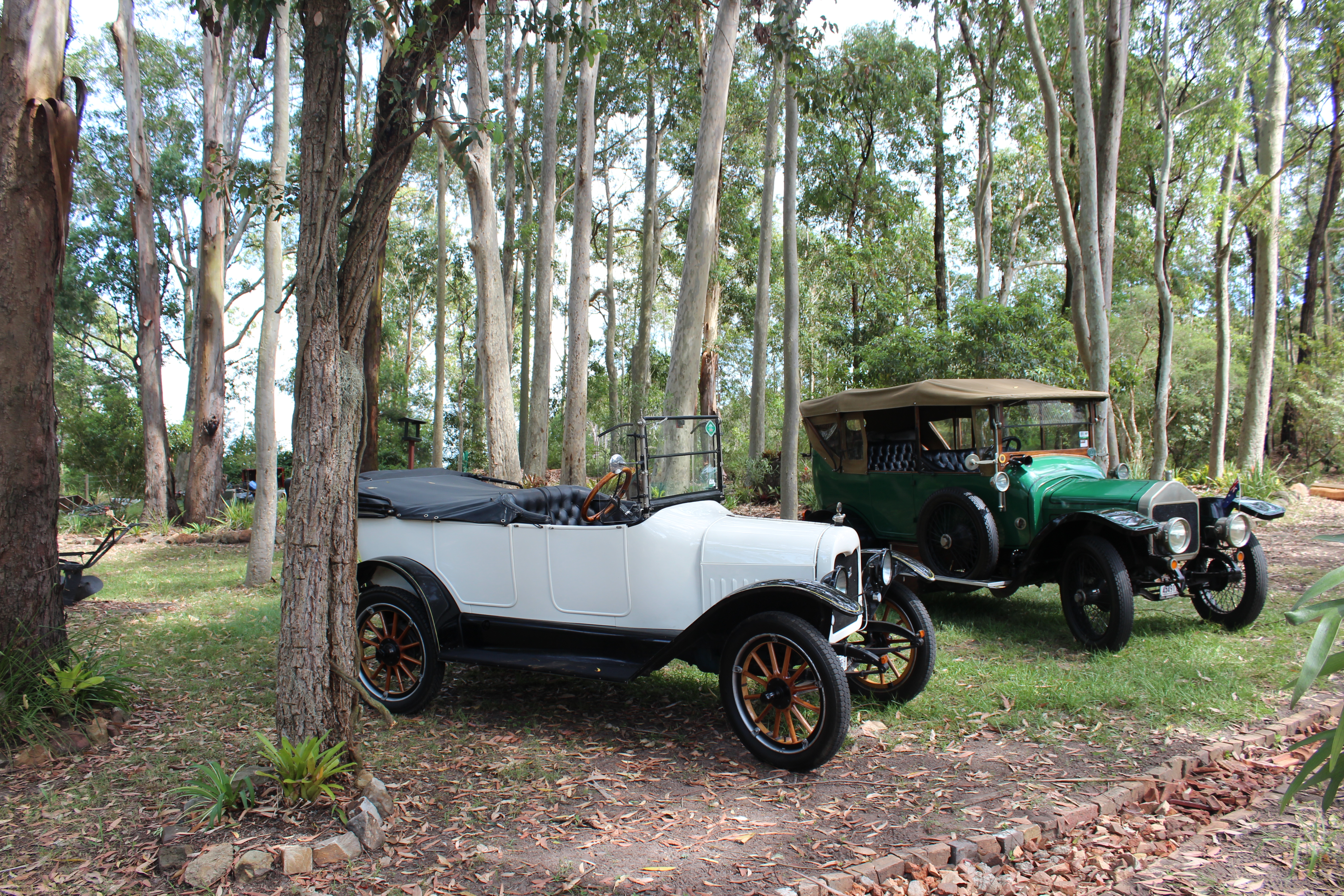 1917 Maxwell & 1914 Wolseley