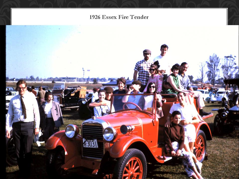 1926 Essex Fire Tender