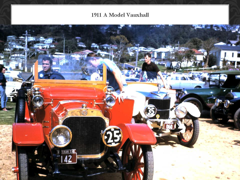 1911 A Model Vauxhaull