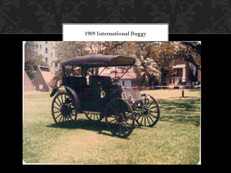 1909 International Buggy