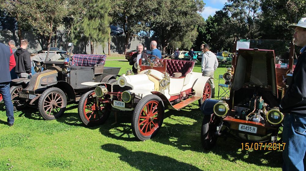 1908 Renault, 1909 Sizaire et Naudin, 1908 Renault