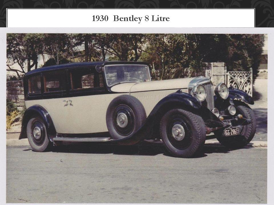 1930 Bentley