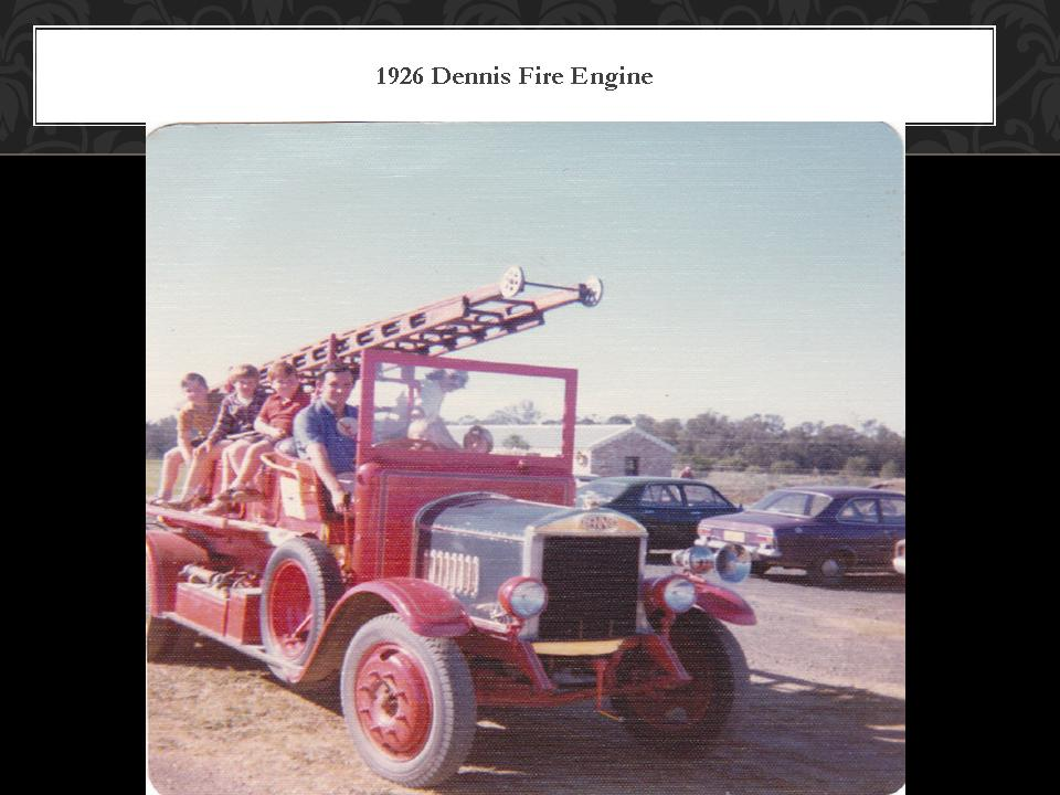 1926  Dennis Fire Engine