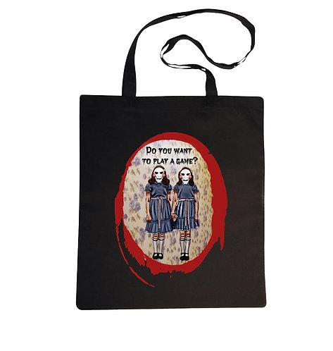 Tote bag Twins Saw