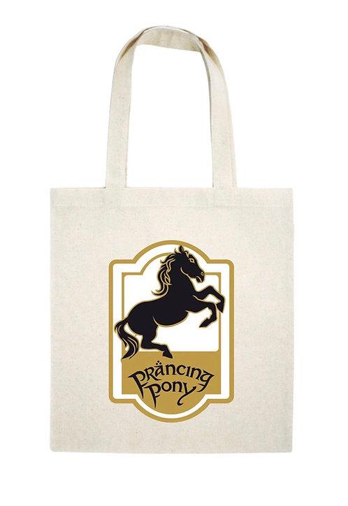 Tote Bag Prancing Pony