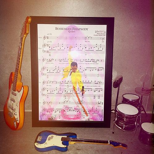 FanArt Partition Bohemian Rhapsody