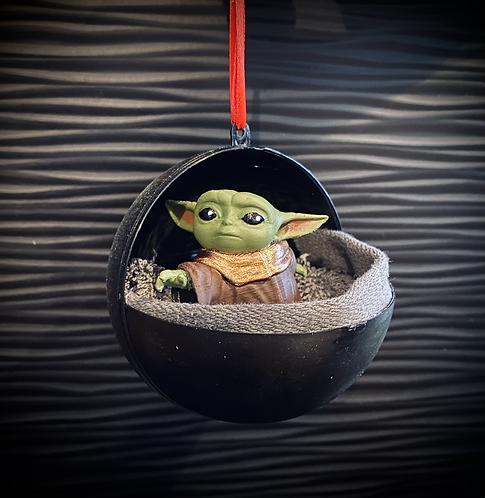 Boule de Noël Baby Yoda