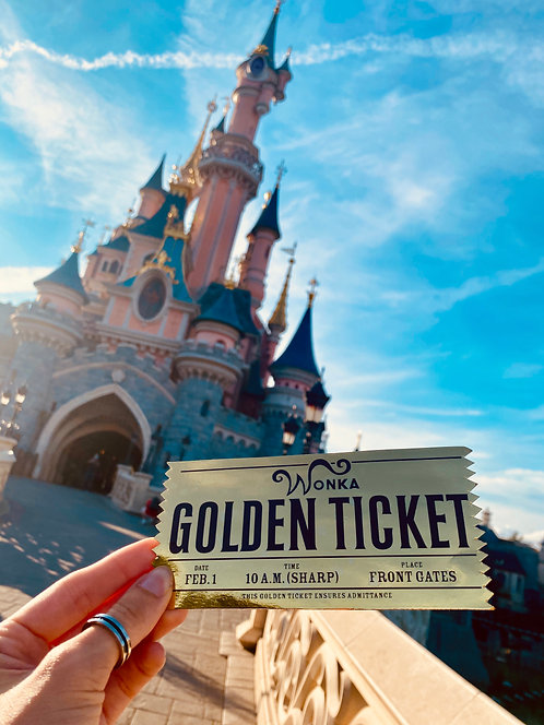 Ticket d'Or Annonce