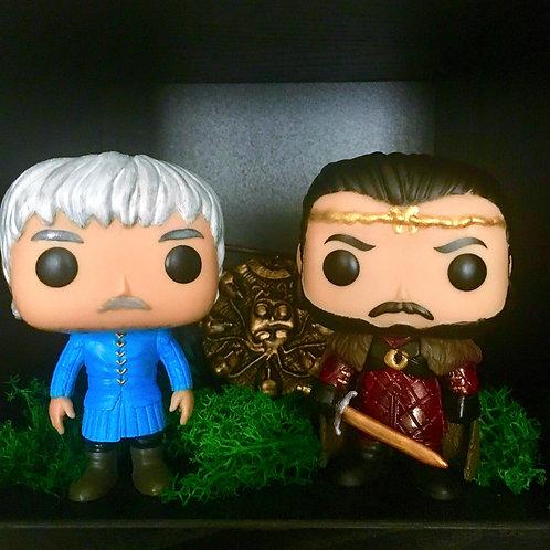 Funko Pop Custom Perceval et Arthur