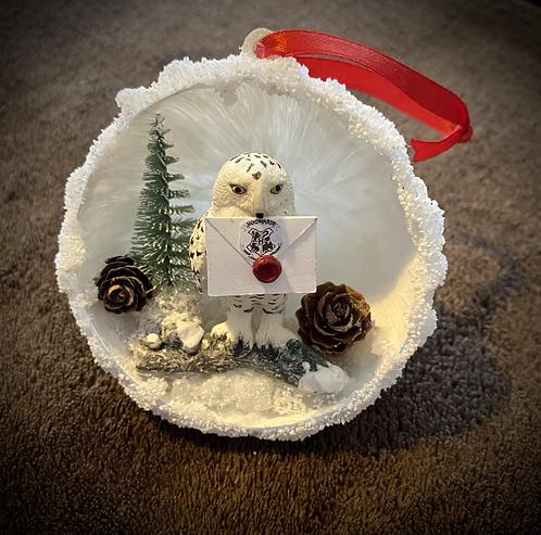 Boule de Noël Hedwige