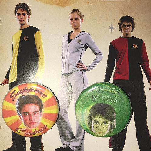 Pins Cedric VS Harry