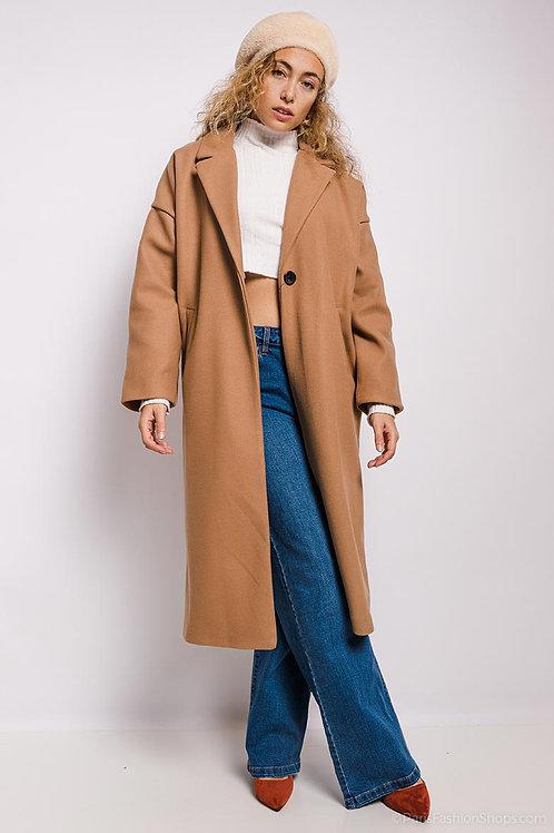 Manteau long beige