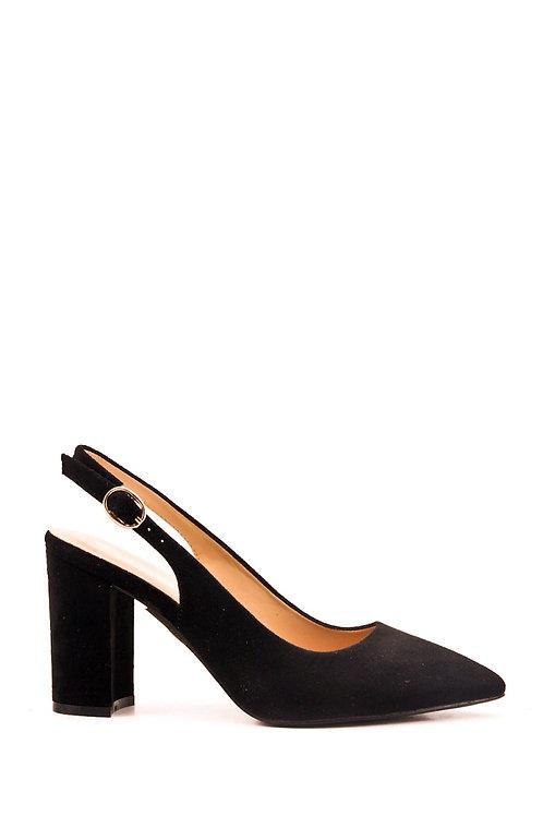 Chaussures à talons carrés noires