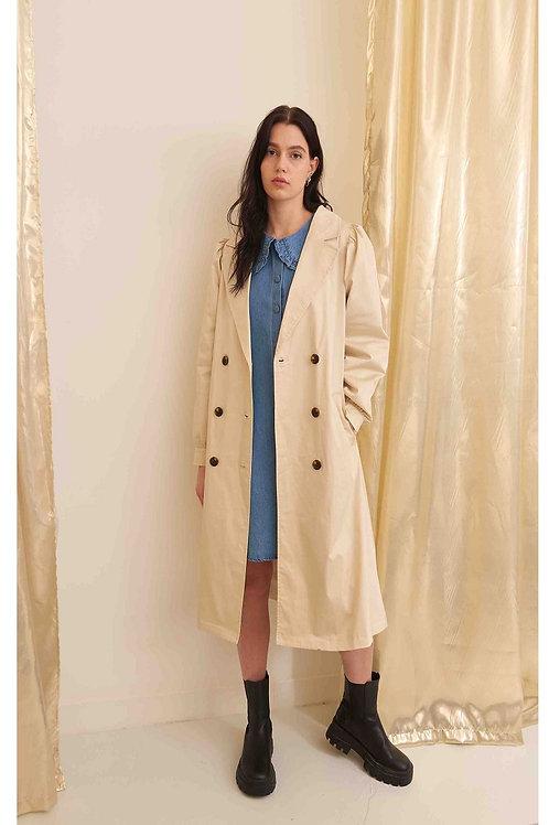 Trench-coat en coton