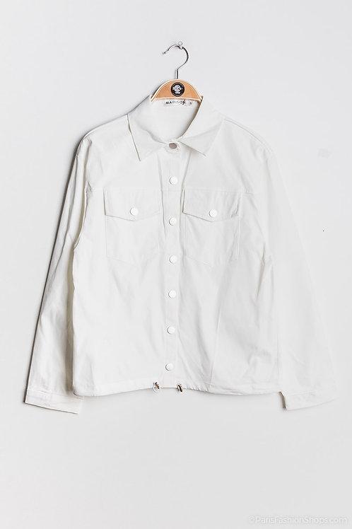 Veste blanche en coton