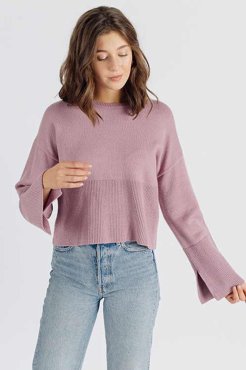 Pull court lilas