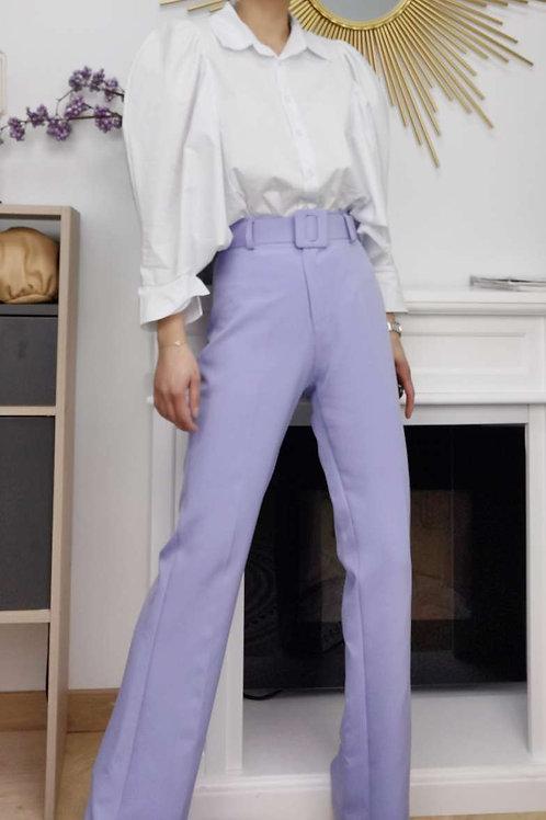 Chemise blanche manches chauve-souris