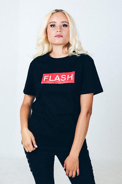 """T-shirt noir """"FLASH"""""""