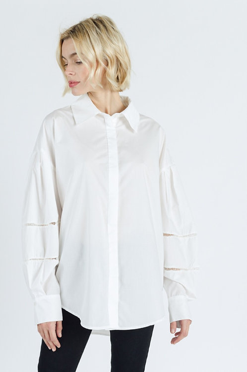 Chemise ample blanche
