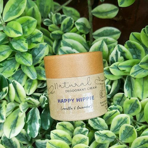 Happy Hippie-Vanilla Lavender Natural Deodorant cream