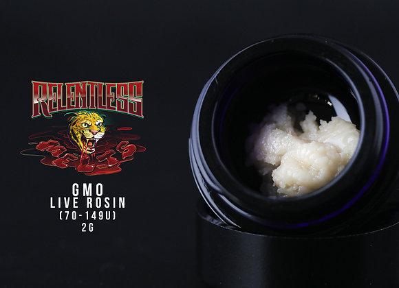 Relentless Melts- GMO 149-70u 2g Cold Cure