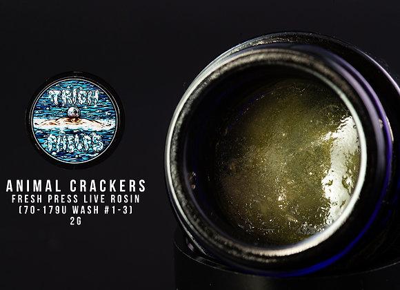Animal Crackers (2g Fresh Press) - Trich Phelps  (Animal Cookies X Kush Mints)