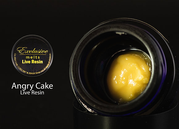 Angry Cake(gelato #33 X Wedding Cake) - Exclusive Melts Live Resin Badder 1 Gram