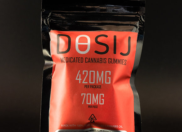 Dosij Gummies - 420mg