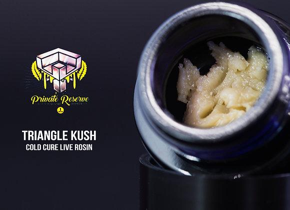 Triangle Kush (2g) Cold Cure - HaveHash Live Rosin