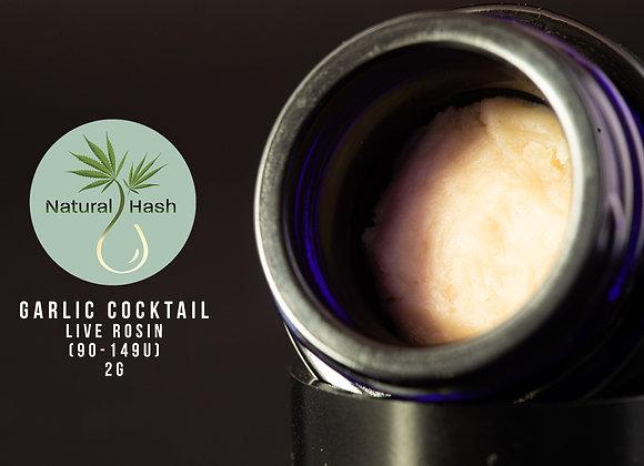 Garlic Cocktail - Natural Hash (2g 149-90u Cold Cure)