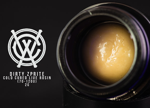 Dirty Zprite- West Coast Alchemy & Ohmega farms 2G 70-120u Cold Cure