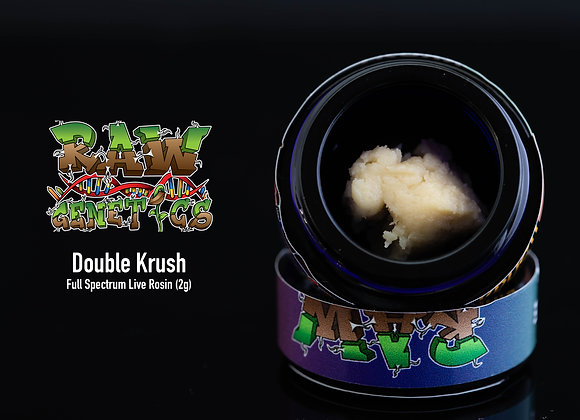 Hashlete - Double Krush (2g Full Spec CC Rosin) (Chem91 BX2)