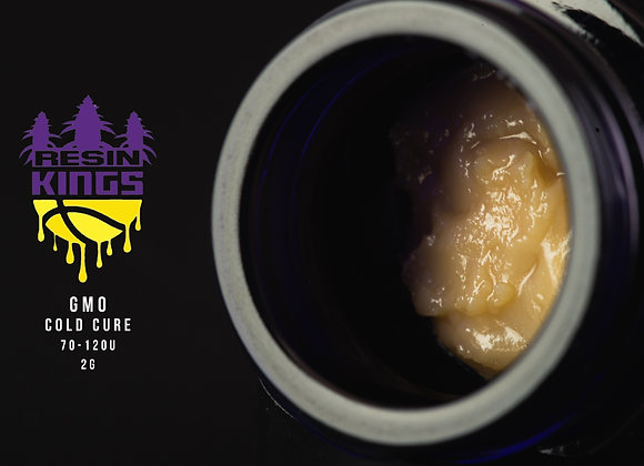 GMO 70-120u Cold Cure 2G live rosin - Resin Kings