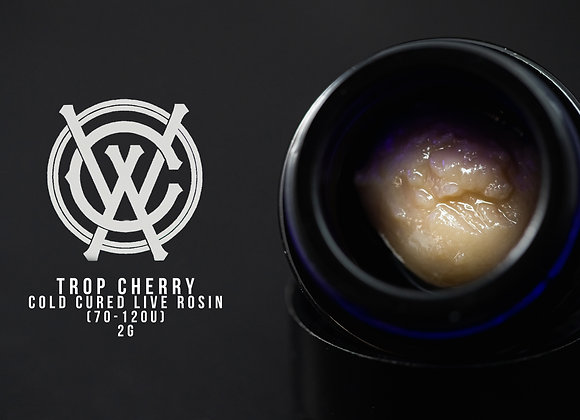 Tropicana Cherrys - West Coast Alchemy & Kaya Farms 2G 70-120u Cold Cure