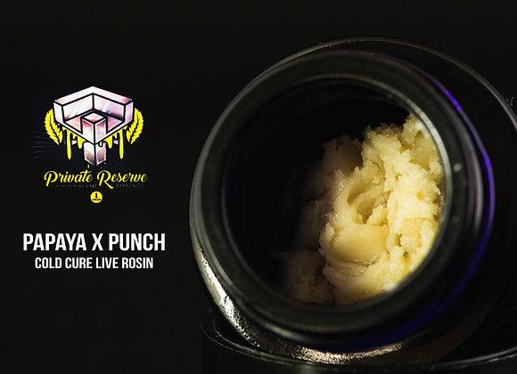 Papaya Punch (2g)Cold Cure - HaveHash Live Rosin