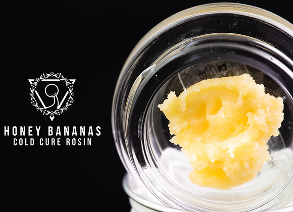 Honey Bananas - Triangle Trichomes (2G Cold Cure)
