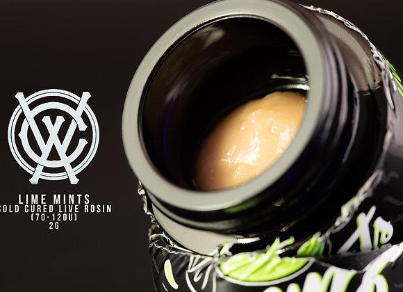 Lime Mint (2g 70-120u Live Rosin Cold Cure) - West Coast Alchemy