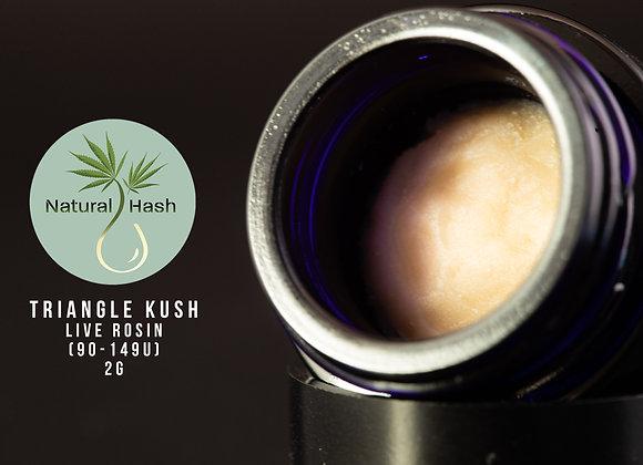 Triangle Kush - Natural Hash (2g 149-90u Cold Cure)