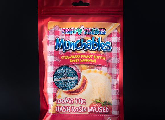 Munchables - Strawberry Peanut Butter HoneySandwhich