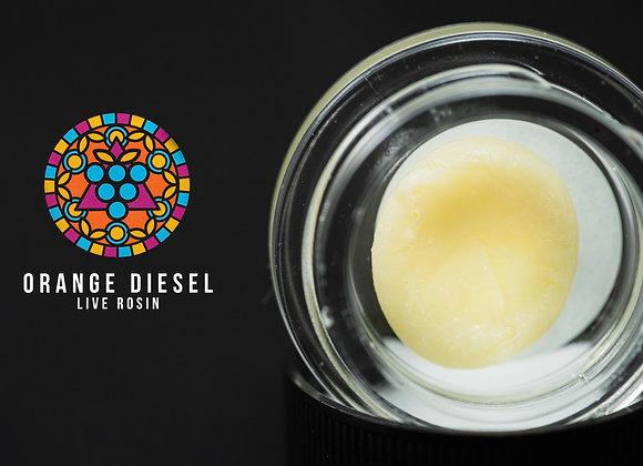 Grape God - Orange Diesel (1G) Cold Cure