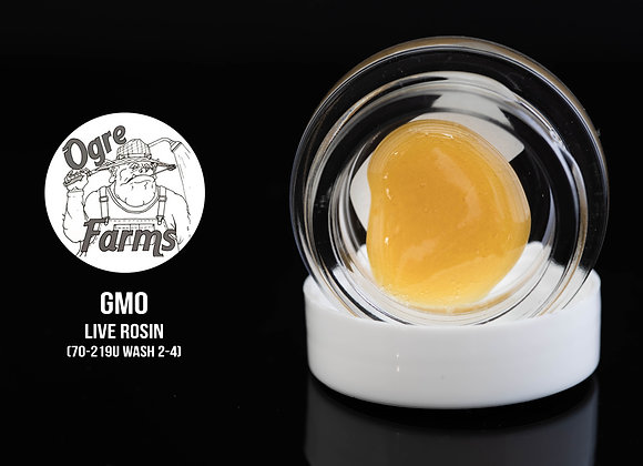 Ogre Farms- (2g Jar) GMO 70-219u Live Rosin 2-4 st Wash Yum Yum Organic