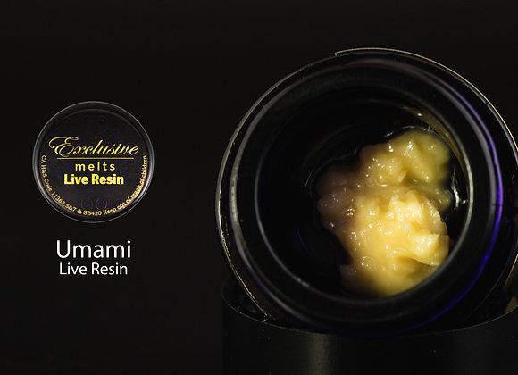 Umami  - Exclusive Melts Live Resin Badder 1 Gram
