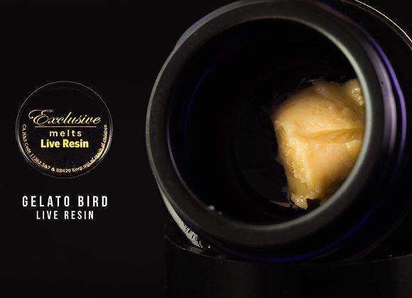 Gelato Bird  - Exclusive Melts Live Resin Badder 1 Gram
