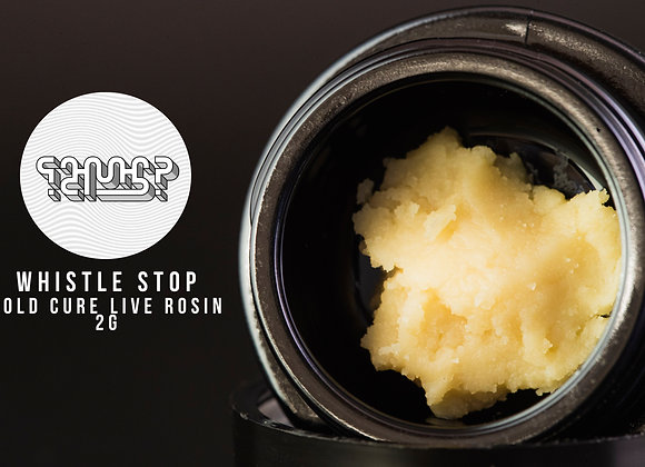 Whistle Stop 90-149u Rosin Cold Cure 2G - Huh Hash