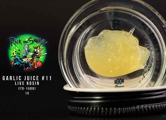 Rick Squashy-  Garlic Juice #11  70-150 Single Source