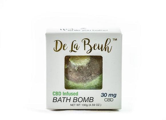 De La Beuh & Avos Natural Products- Avocado&Lime 30 CBD BathBomb