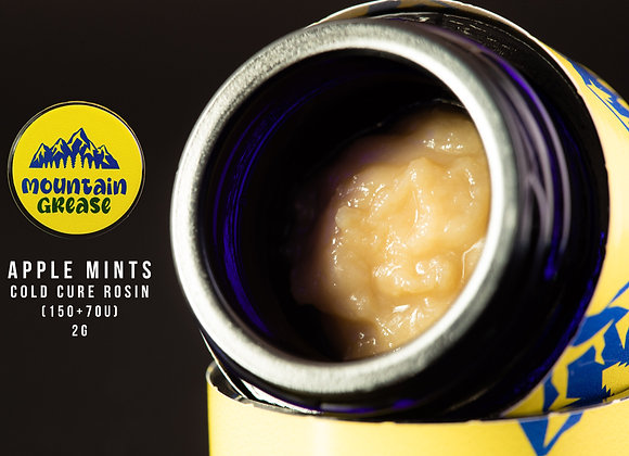 Apple Mints (Apple Fritter x Kush mints) 2g - Mountain Grease 150+70u Co