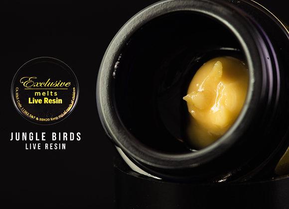 Jungle Birds  - Exclusive Melts Live Resin Badder 1 Gram